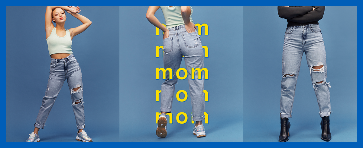 Denim Mom**
