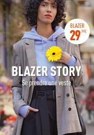 BLAZER STORY Se prendre une veste